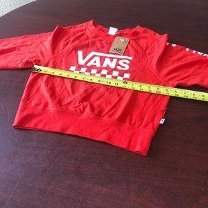#269 Vans Crop Shirt Size S